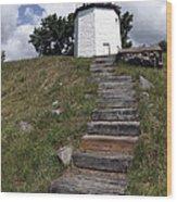 Stony Point Lighthouse Stony Point Ny Wood Print