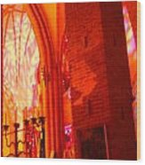 Storkyrkan I Stockholm Wood Print