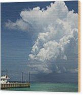 Storm Ahead Wood Print