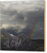 Storm Canvas Wood Print