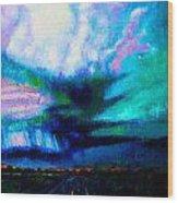 Storm Chasing Wood Print