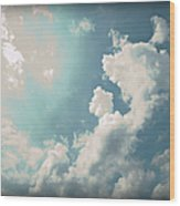 Storm Clouds - 1 Wood Print