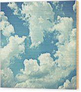 Storm Clouds - 2 Wood Print