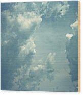 Storm Clouds - 3 Wood Print