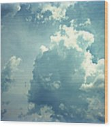 Storm Clouds - 4 Wood Print