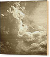 Storm Clouds - 5 Wood Print