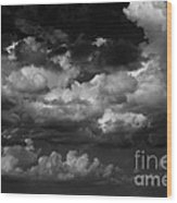 Storm Clouds 1 Wood Print