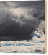 Storm Clouds-1 Wood Print by Todd Sherlock