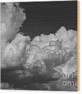 Storm Clouds 2 Wood Print