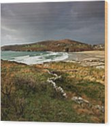 Storm Clouds Over Crookhaven Wood Print