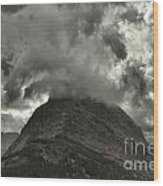 Storm Over Grinnell Wood Print