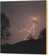 Storms Glory Wood Print