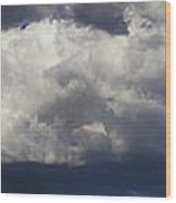 Stormy Skies Over Rogue Valley Wood Print