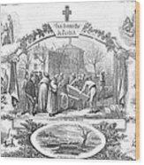 Story Of A Pauper, 1868 Wood Print