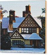 Storybook House Wood Print