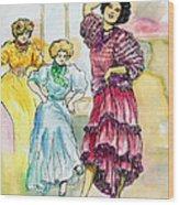 Storyville Wood Print