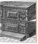 Stove, 1876 Wood Print