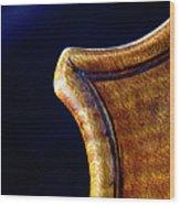 Stradivarius Corner Closeup Wood Print