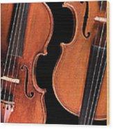 Stradivarius Violin And Maggini Viola Wood Print