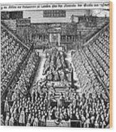 Strafford Trial, 1641 Wood Print