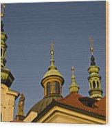 Strahov Monastery - Prague Czech Republic Wood Print