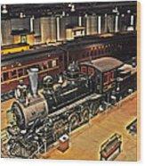 Strasburg Railroad Museum Wood Print