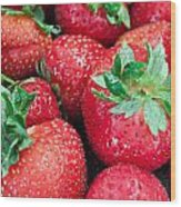 Strawberry Delight Wood Print