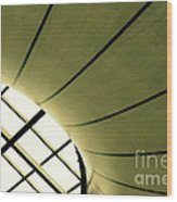 Streaming Light Wood Print by Vishakha Bhagat