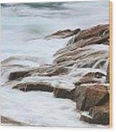 Streaming Seas Wood Print