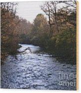 Streams Of Serenity Wood Print