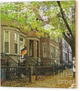 Windsor Terrace Wood Print
