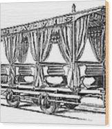 Streetcar, C1880 Wood Print