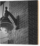 Streetlamp Wood Print by Eric Gendron