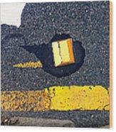 Streets Of Coronado Island 34 Wood Print