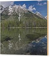 String Lake Panorama Wood Print