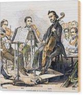 String Quartet, 1846 Wood Print