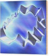 String Theory, Artwork Wood Print