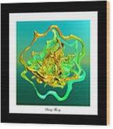 String Theory D Wood Print