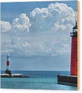 Studio Lighthouse Wood Print