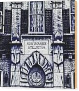 Study Of One Of The Oldest Catholic Churches In New Orleans Wood Print