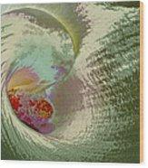 Stylized Calla Lily Wood Print