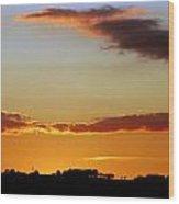 Sublime Sunset Wood Print