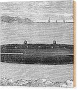 Submarine, 1852 Wood Print
