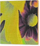 Subterranean Memories 15 - The Embrace Wood Print