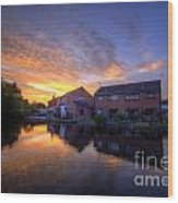 Suburban Sunrise 5.0 Wood Print