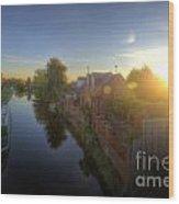 Suburban Sunrise 6.0 Wood Print