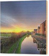 Suburban Sunrise 8.0 Wood Print
