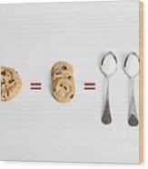 Sugar And Cookies Wood Print
