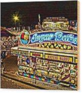 Sugar Babes 2 Lake County Fair Wood Print