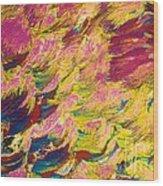 Sugar Crystal Wood Print